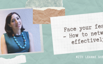 Ep4 – Leanne Shelton: Face your fears – how to network effectively