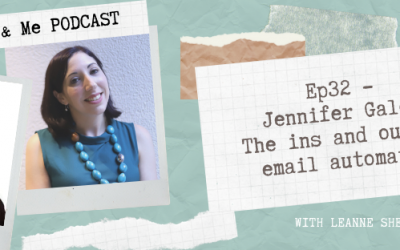 Ep32 – Jennifer Gale: The ins and outs of email automation