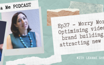 Ep37 – Morry Morgan: Optimising video for brand building and attracting new leads