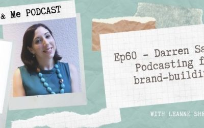 Ep60 – Darren Saul: Podcasting for brand-building