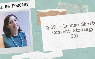 Ep69 – Leanne Shelton: Content Strategy 101