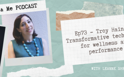 Ep73  – Troy Haines: Transformative technology for wellness and performance