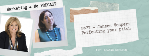 Sales Pitch Podcast with Janeen Vosper