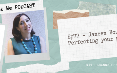 Ep77 – Janeen Vosper: Perfecting your pitch