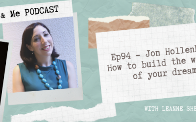 Ep94 – Jon Hollenberg: How to build the website of your dreams